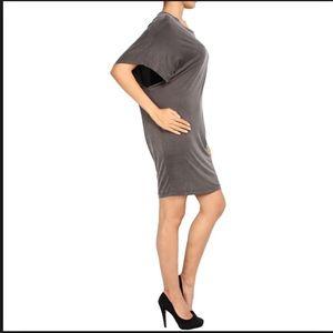 Diesel Dresses - DIESEL tshirt slinky dress earth